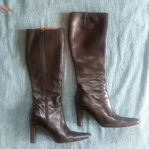 J-Crew tall leather boots
